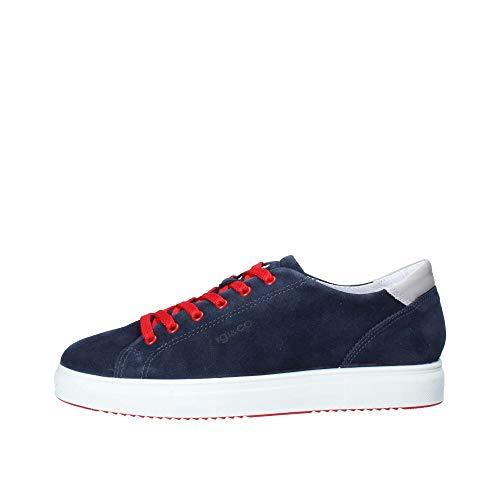IGIeCO 3132711 Blu Sneakers Scarpe Uomo Calzature Casual (45, Blu)