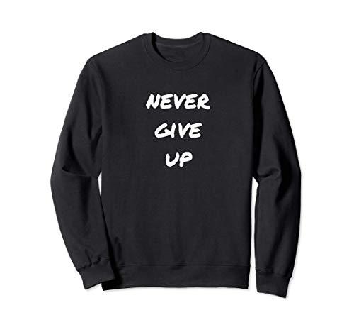 Never Give Up Gym Motivation Geschenk...