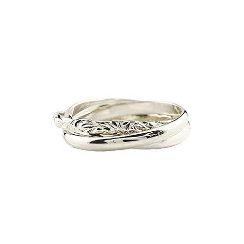 [アトラス]Atrus リング メンズ ハワイアンジュエリー sv925 スターリングシルバー 3連リング 甲丸 指輪 ピンキーリング 6号