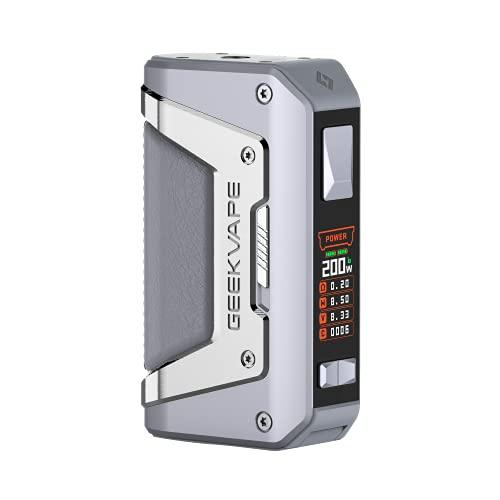GEEKVAPE AEGIS Legend 2 Akkuträger Box Mod, 200 Watt, ohne Liquid und somit ohne Nikotin, silber, 300 g