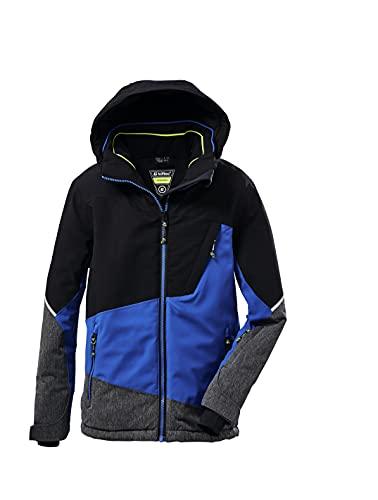 Killtec Chłopięca kurtka funkcyjna/kurtka narciarska z kapturem i łapaczem śniegu