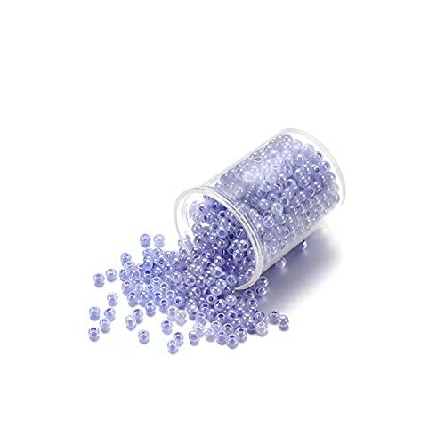 Joyas haciendo kits de cuentas Granos de semillas de vidrio multicolor a granel, opaco pequeño artesanía redondo pony beads kit de inicio para BRICOLAJE Pulseras Pendientes de fabricación de suministr