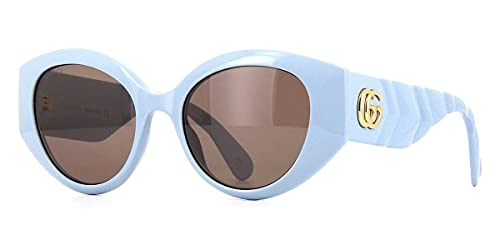 Gafas de Sol Gucci GG0809S Blue/Brown 52/19/145 mujer