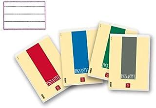 Colori pastello assortiti Stickers//foglietti adesivi Pigna Stickers Blisters f.to 7,6X7,6 cm ff 100