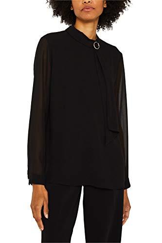 ESPRIT Collection Chiffon-Bluse mit Schluppe