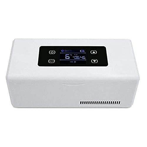 Cushion Estuche para Refrigerador De Insulina, Enfriador De Medicinas con Pantalla LED Pequeña, Mini Enfriador De Insulina De 2-8 ℃ Adecuado para Viajes En Automóvil Y Uso Familiar