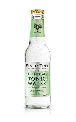 Fever-Tree Elderflower Refrescos - Paquete de 24 x 200 ml - Total: 4800 ml