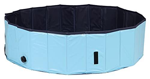 Trixie Piscine pour Chien Bleu Foncé Diamètre 160 × 30 cm