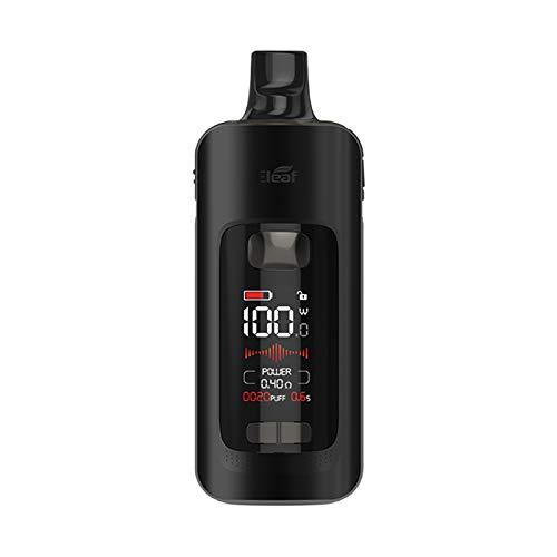 Kit Original Eleaf iStick P100 Kit 100W Vape 100W Vape 3400mAh Batería 4.5ml Atomizador con GZ 0.2 0.4ohm bobina electrónica de vaporizador de cigarrillos