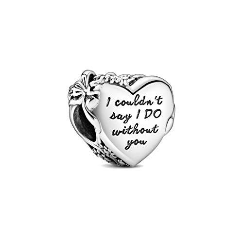 ZSCZQ Infinito Amor Familia corazón Amistad Encanto abalorio encantos Originales Plata 925 Pulsera Mujer joyería A1723