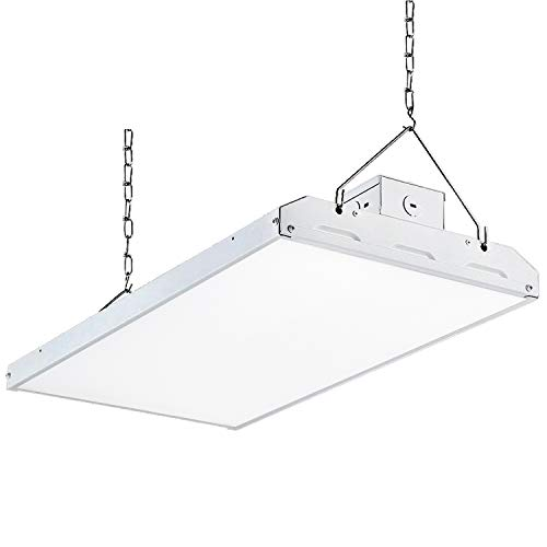 Hykolity Commercial Grade 2FT LED High Bay Shop Light, 105W 14700lm 140LM/W DLC Premium, Compatible with Industrial 100-277V, 5000K Warehouse Lighting, 0-10V Dim, UL Complied, 7 Years Warranty