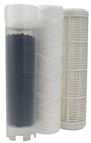 AQUAWATER - 104633 - Kit de rechange cartouche eau de pluie pour station Aqua Rain - Kit permettant de filtrer les impuretés et les mauvaises odeurs provenant de l'eau stagnante