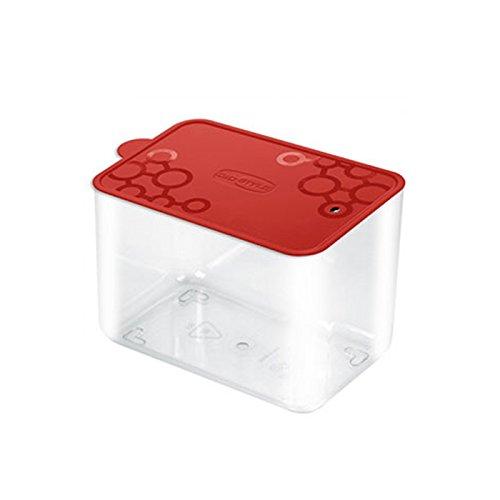 Aufbewahrungsbox Dose aus PVC rechteckig mit.Tengo M Giò Style Spitze rot Frische Pasta Essen Kekse