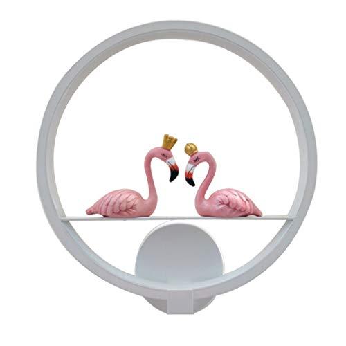 LED Dimmable Lampe Applique Lampe De Chevet Chambre Moderne Applique Murale Applique Murale Éclairage Salon Créatif En Métal Acrylique Anneau Lampe Escalier Lampe Liseuse Hall De Lampe 17 w