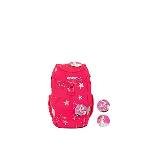 ergobag Mini Kids Backpack Rucksack Unisex Kinder XS Rosa Sterne