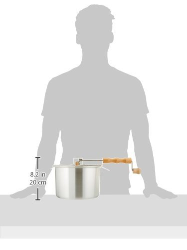 Product Image 8: 6250 Great Northern Popcorn Original Spinner Stovetop 6 1/2 Quart Popcorn Popper – Theater Popcorn at Home!