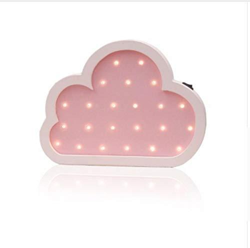 Leeslamp bedlampje tafellamp bureaulamp tafellamp wolken nachtlampje Nordic cartoon led-wandlamp milieuvriendelijk kinderkamer decoratie mooi