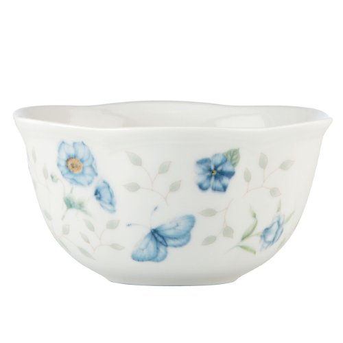 Lenox Butterfly Meadow Bowls, 12-Ounce, Set of 4, White - 829051