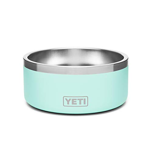 YETI Boomer 4, Stainless Steel, Non-Slip Dog Bowl, Holds 32 Ounces, Seafoam