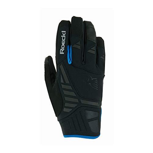 Roeckl Herren Reintal Handschuhe, schwarz/Blau (056), 10