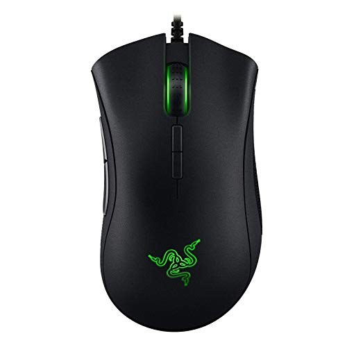 Razer Deathadder Elite: True 16.000 5G Optical Sensor - Razer Mechanical Mouse Switches (Up To 50 Million Clicks) - Esports Gaming Mouse