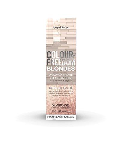 Colour-Freedom Blondes Rose Blonde XL 150 ml auswaschbare Haartönung