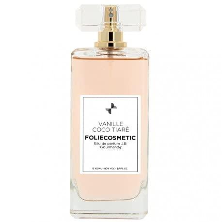 Eau de parfum femme Mon Parfum JB Vanille Coco Tiaré 100 ml Folie Cosmetic