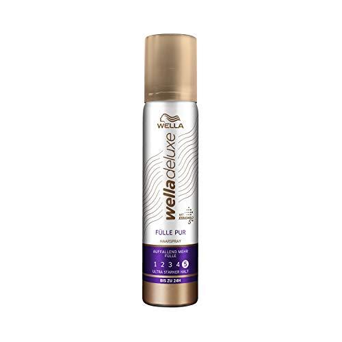 WELLA Deluxe Fülle pur Haarspray (Mini-Größe), 1-er Pack (1 x 75ml)