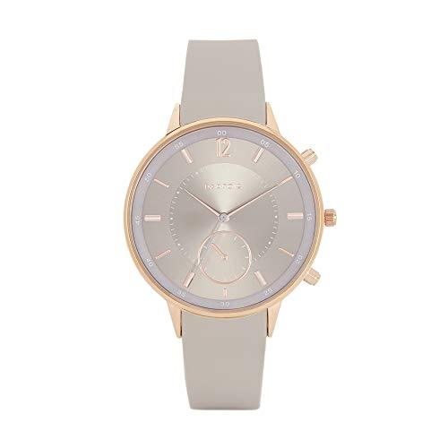 Parfois - Reloj Casual Rose Gold Tray - Mujeres - Tallas Única - Gris Pardo