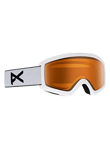 Anon Herren Helix 2.0 Non Mirror Snowboardbrille, White/Amber, One Size