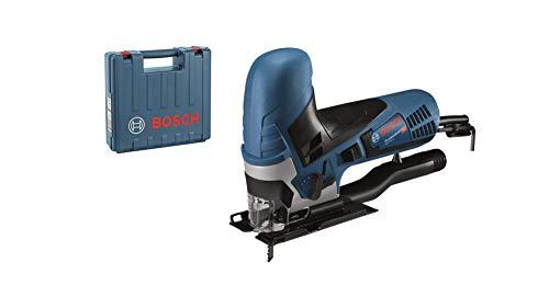 Bosch Professional GST 90 E - Sierra de calar (650 W, 500 - 3100 cpm, profundidad de corte 90 mm, en maletín)