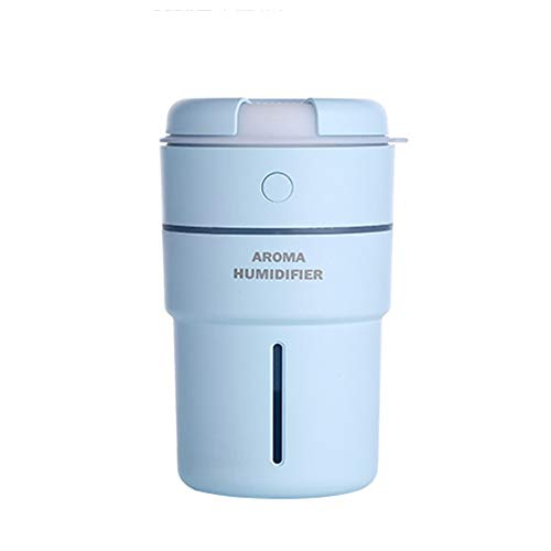 SUNSHINE HOME&3 - Humidificador de Niebla fría (ultrasonido, Puede Trabajar 8-16 Horas, Gran Capacidad, 320 ml, con aromaterapia de luz Nocturna, Adecuado para guarderías, dormitorios, oficinas)