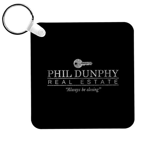 Phil Dunphy Real Estate Always Be Closing Modern Family Keyring