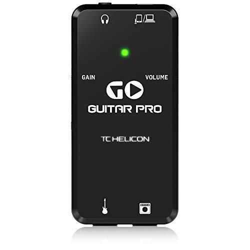 TC-Helicon Go Guitar Pro gitaar interface (iOS/Android)