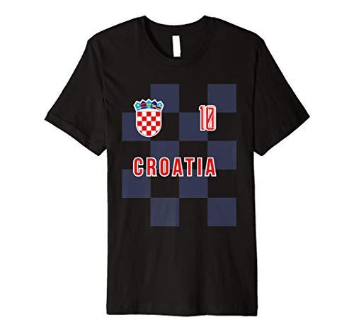 Croatia Away Soccer Football T-shirt for Men Women Youth