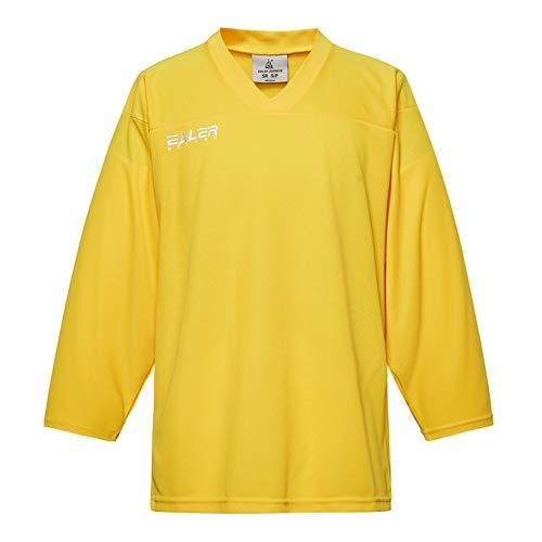 EALER Erwachsenen-Hockey-Trikot für Jugendliche, Torwarttrikot, Senior bis Junior, gelb, Jenior-G