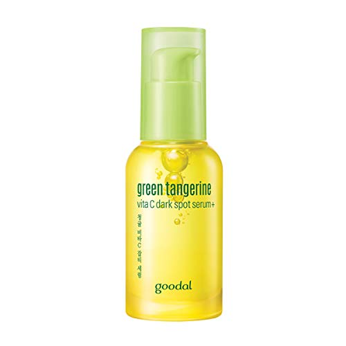 Goodal Green Tangerine Vitamin C Dark Spot Facial Serum+ for Sensitive Skin | Brightening, Dark Spot Treatment, Anti-Aging, Acne Scars, Fine Lines, Hyperpigmentation, and Dark Circles (Kit)