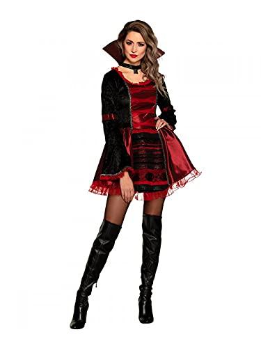 DISBACANAL Disfraz Vampira Victoriana Sexy - M-L