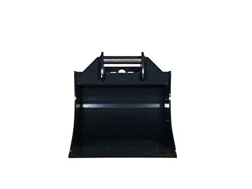 Terrablade ST- Kabellöffel 500mm breit bis 2.2t mit Schnellwechselaufnahme MS01, Schneidleiste aus Hardox/Baggerschaufel, Baggerlöffel