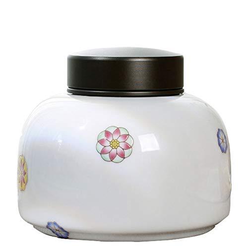 LIOYUHGTFY Urnas para Cenizas Adulto min Urna Funeraria De Urnas De Cremación for Cenizas Humanas Sello A Prueba De Humedad Blanco(110X90MM) (Color : 1#)