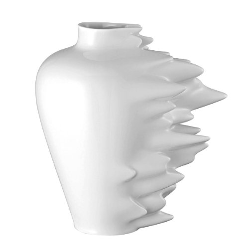 Rosenthal - Fast Vase - Blumenvase Weiß Höhe 30 cm