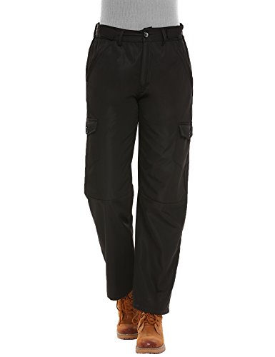 Zeagoo Women's Outdoor Quick Drying Hiking Water-Resistant Pants Lightweight Trousers