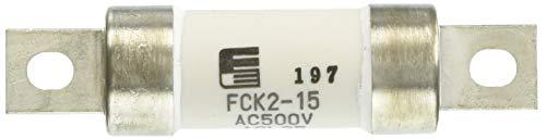 富士電機機器制御 筒形ヒューズ 刃形端子 15A FCK2-15