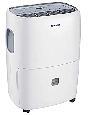 Newentor Dehumidifier with Continuous Drainage, Laundry Drying- Ideal for Damp and Condensation