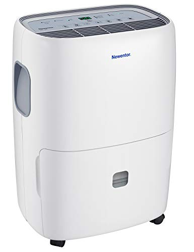 Newentor Dehumidifier 20L-25L/Day, Room Dehumidifiers for Home Damp, Large...