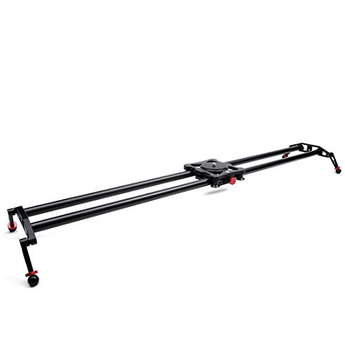 Verstelbare Carbon Fiber Camera Track Slider, Slider Rail System, met 6 lagers voor Camera Video Movie Fotografie DSLR Camcorder (Max belasting: 6kg/13.3lbs)