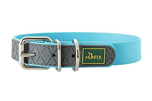 HUNTER CONVENIENCE Hundehalsband, Kunststoffmaterial, 55 M-L, türkis