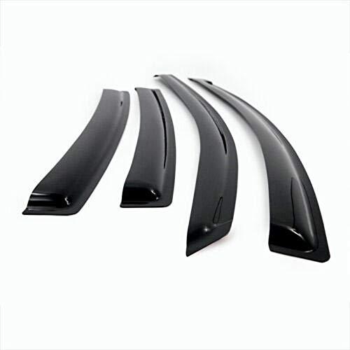 ICBEAMER Side Window Visors Deflectors for 2008-09 Scion xD 4 Doors Sedan Vent Visor Sun/Rain Guard 4-pc Set