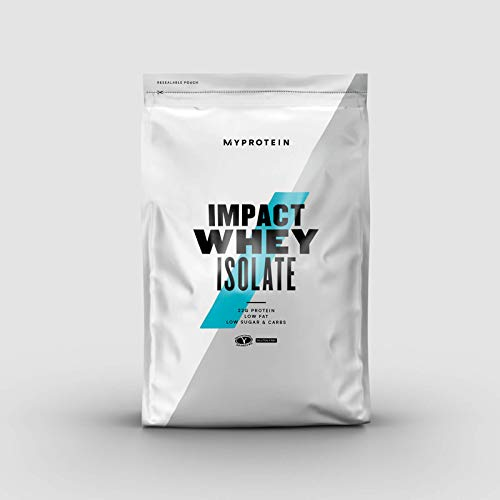 My Protein Impact Whey Isolate Unflavoured Proteins Supplement, 1 kg