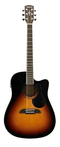ALVAREZ 310224 RD26CESB Dreadnought Electric/Cutaway Gitarre